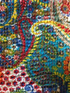 A closer look at the cotton kantha