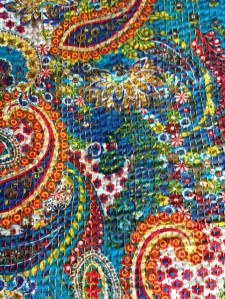 The cotton kantha