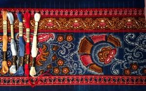 Chosen fabric and threads